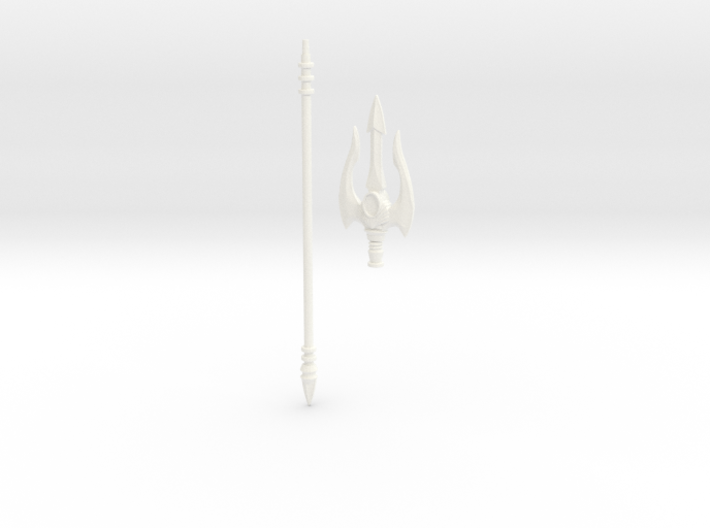 Mermaid's Trident 3d printed