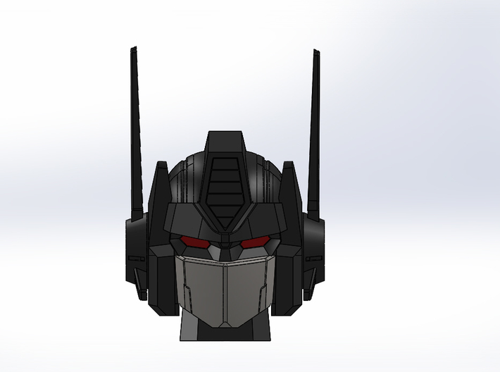 MP-10 HEAD LONG ANTENNAS 3d printed