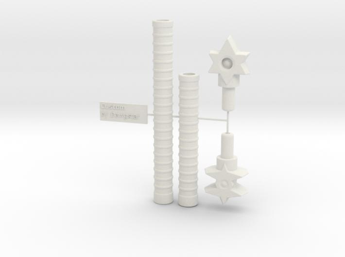 5mm - 8mm Gestalt: Adaptor Handle 3d printed