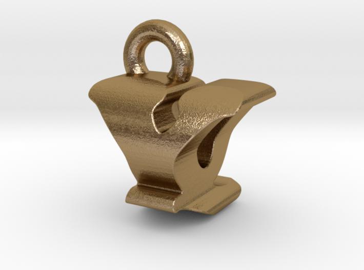 3D Monogram - YQF1 3d printed