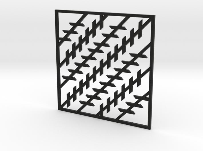 Pendant-Illusion1 3d printed