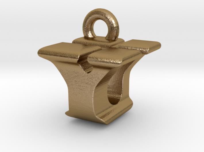 3D Monogram - YUF1 3d printed