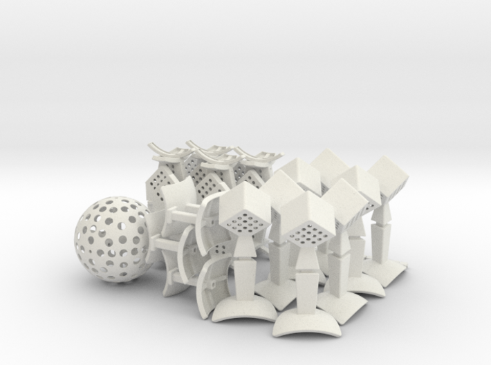 Over The Top 17x17x17 - Part 1 of 7 3d printed