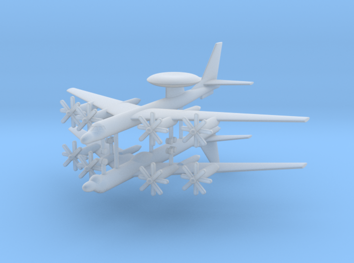 1/700 TU-95RT & TU-126 AEW&C Aircraft (x2) 3d printed 1/700 TU-95RT & TU-126 AEW&C Aircraft (x2)
