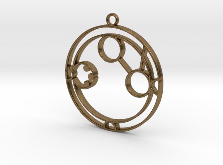 Amanda - Necklace 3d printed