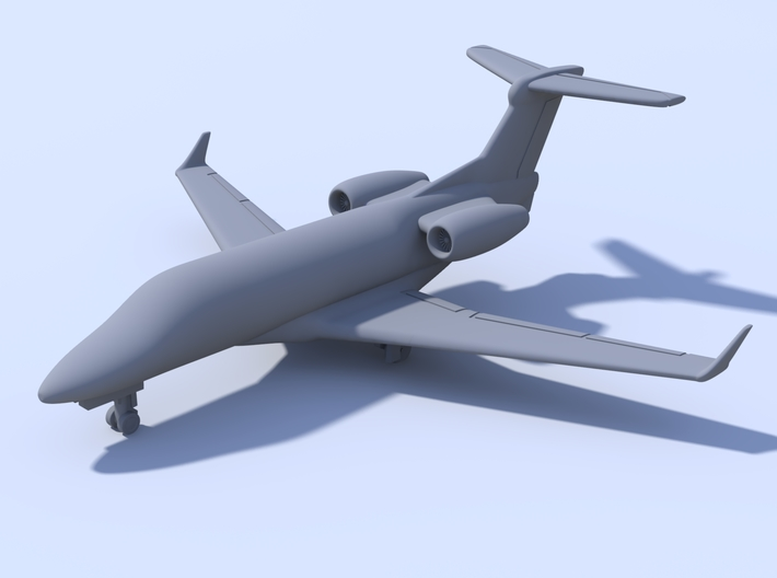 500 - Embrear Phenom 300 - Solid 3d printed