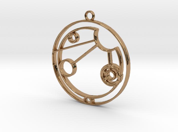 Allison - Necklace 3d printed