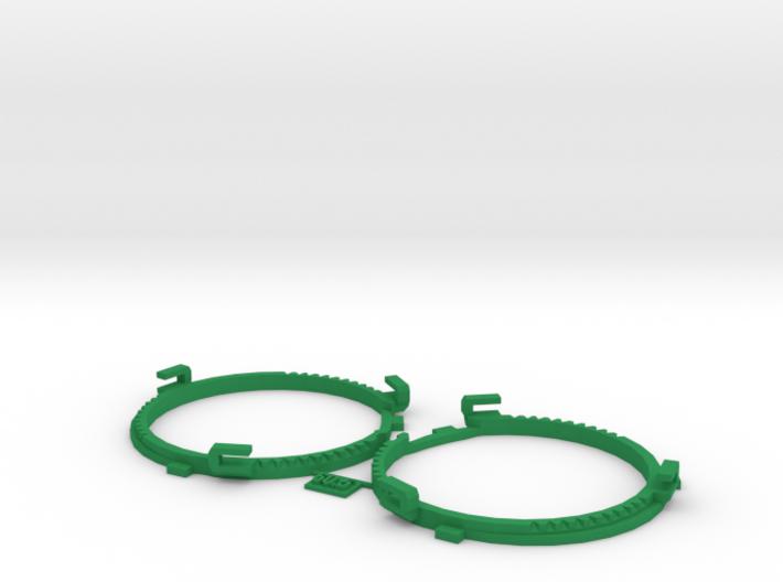 60.5mm Lens Separators | Oculus Rift DK2 3d printed