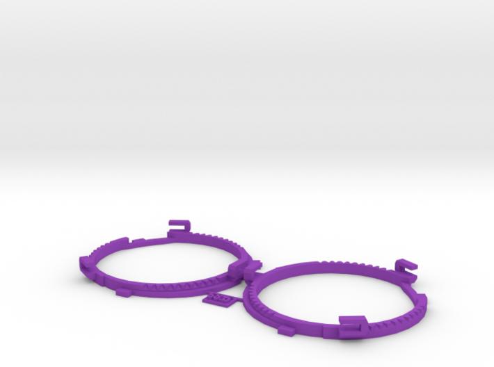 68.5mm Lens Separators   Oculus Rift DK2 3d printed