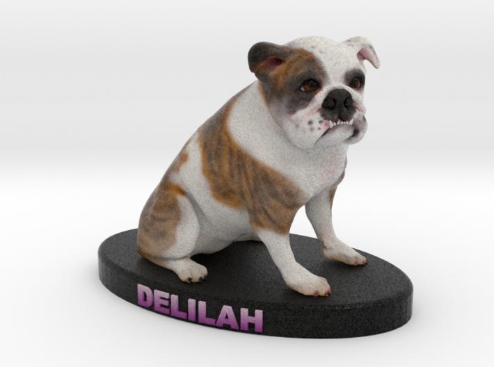 Custom Dog Figurine - Delilah 3d printed