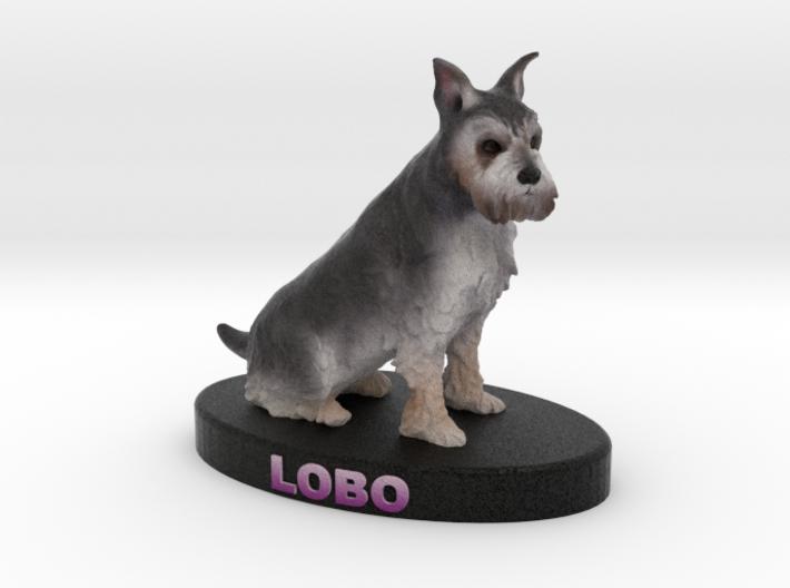 Custom Dog Figurine - Lobo 3d printed