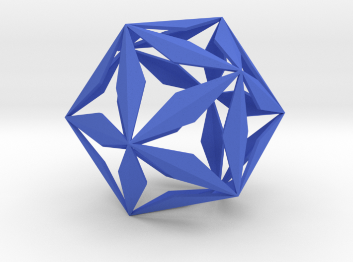 IcosiCrystal 3d printed