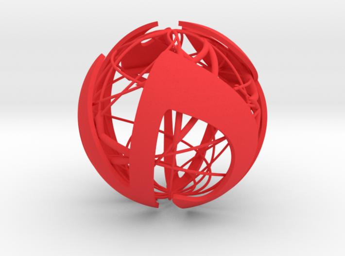 X-mas IV 7x7 - Christmas ball 3d printed
