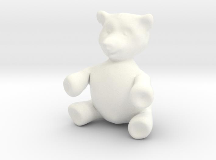 """BIG (3"""") Teddy Bear! 3d printed"""