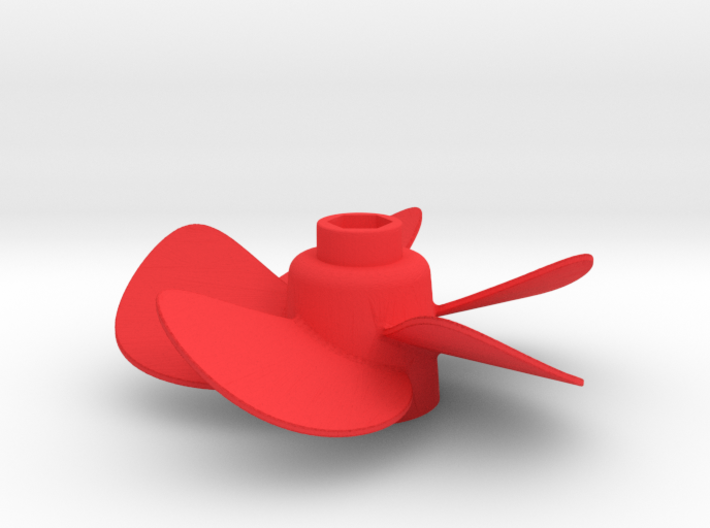 Propeller with 5 Blades 3d printed