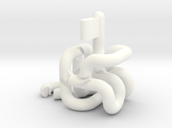 Tube Maze 3d printed
