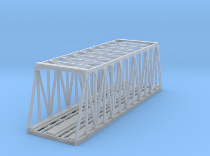 117ft Trestle Steel Bridge Z Scale 3d printed