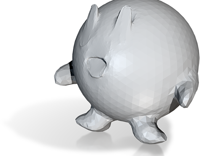 Better Kirby 3d printed