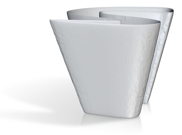 Polka Dot vaze 3d printed