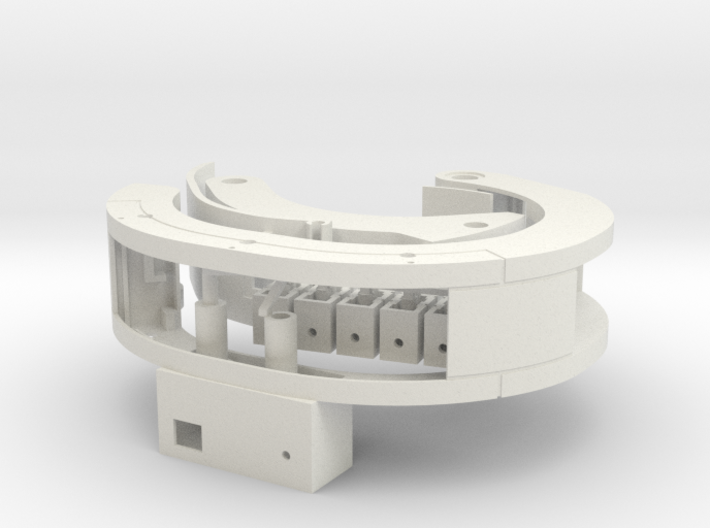 Resident Evil Rev2: Wristband - parts A 3d printed