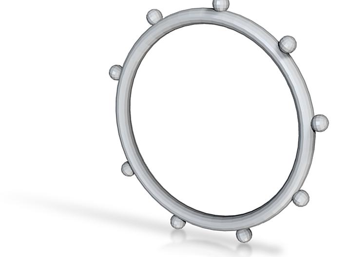 Ball Ring - Sz. 9 3d printed
