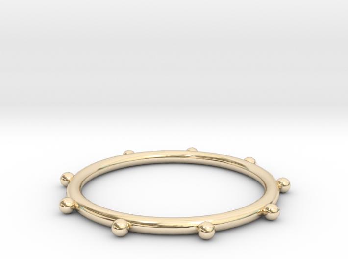 Ball Ring - Sz. 6 3d printed