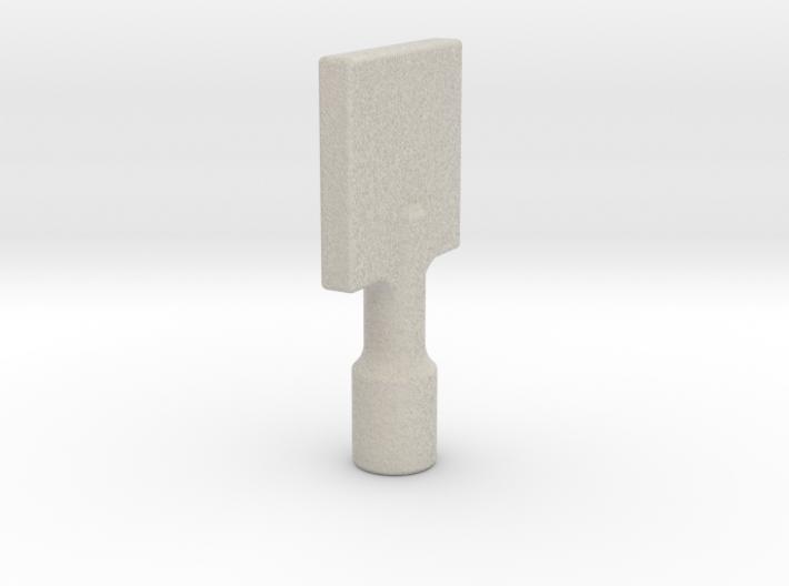 Gas Key 3d printed