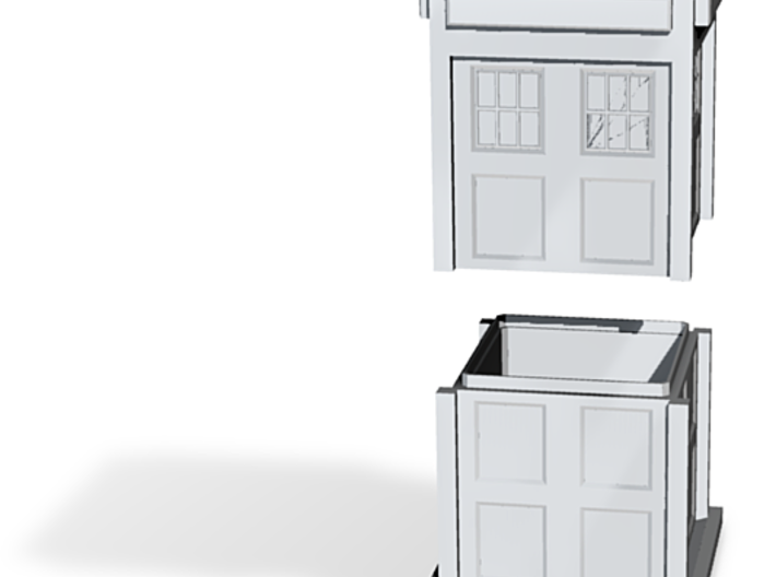 tardisbox 3d printed