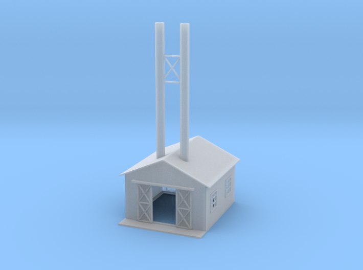 Power House Z Scale 3d printed