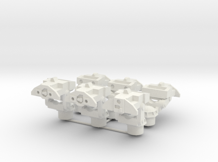 MG100-NATO00A M901 TOW M981 FISTV Turrets (spares) 3d printed