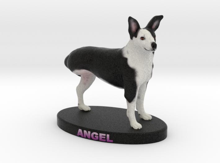 Custom Dog Figurine - Angel 3d printed