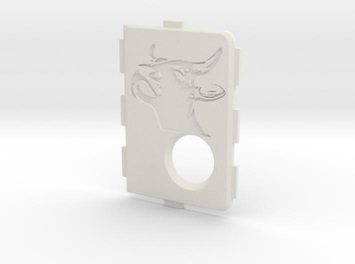 MarkV Cover - Bull 3d printed