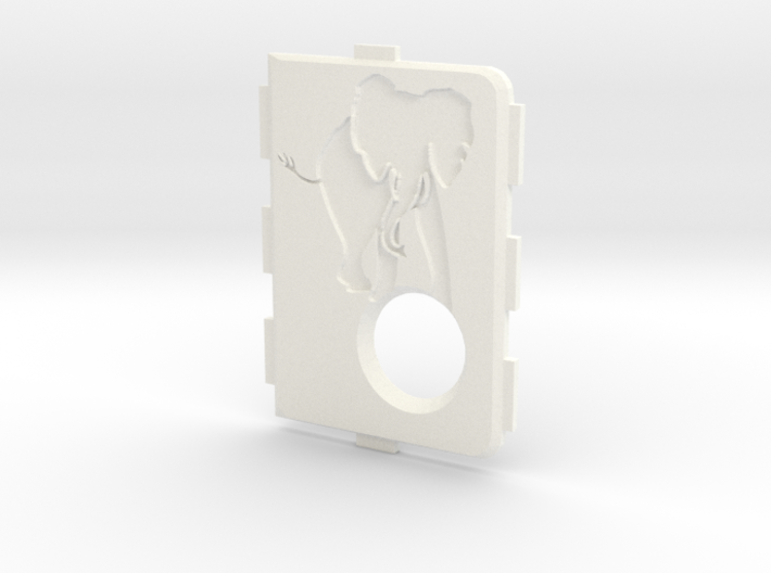 MarkV Cover - Elephant 1 3d printed
