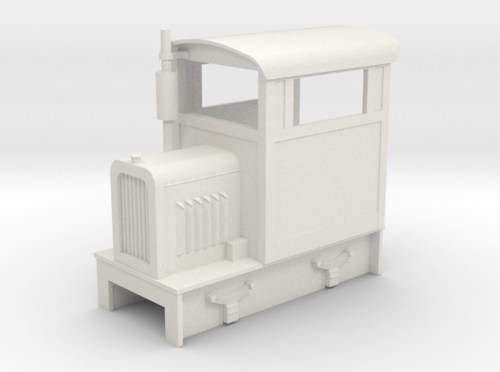 O9 Brookville loco 3d printed