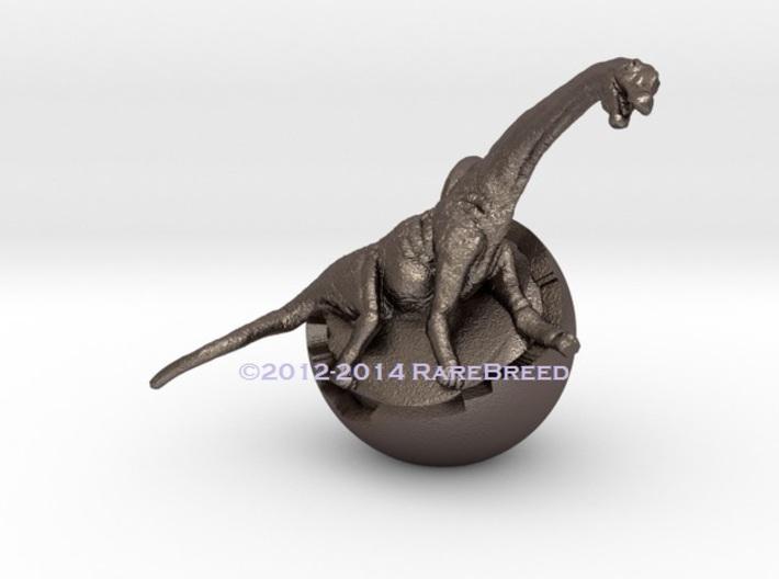 Dinosaur Charm 3d printed Dinosaur charm by ©2012 RareBreed