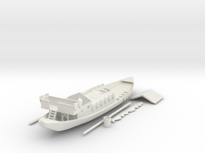 Rivership No Oars 3d printed