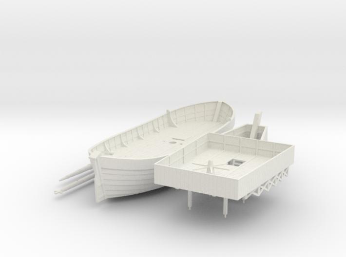 Swedish Warship V2 3d printed