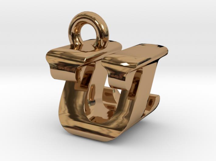 3D Monogram - UZF1 3d printed
