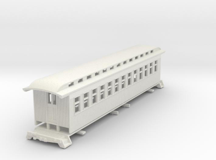 HOn30 40ft Coach D without Interior 3d printed