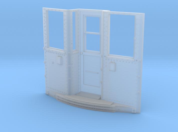Baldie # 4190 - dual telephone style door controls 3d printed