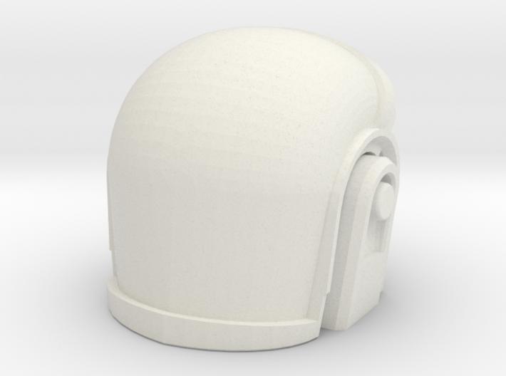 3D Printed Daft Punk Helmet 3d printed