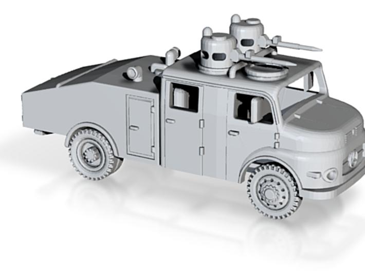 Mercedes 1113 Polizei Feuerwehr Wasserwerfer 1:220 3d printed