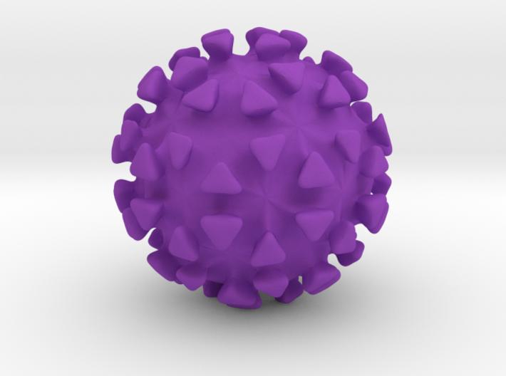 Virus Ball 3d printed