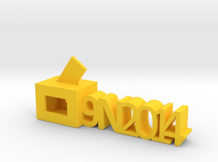 Record del 9N 2014 3d printed