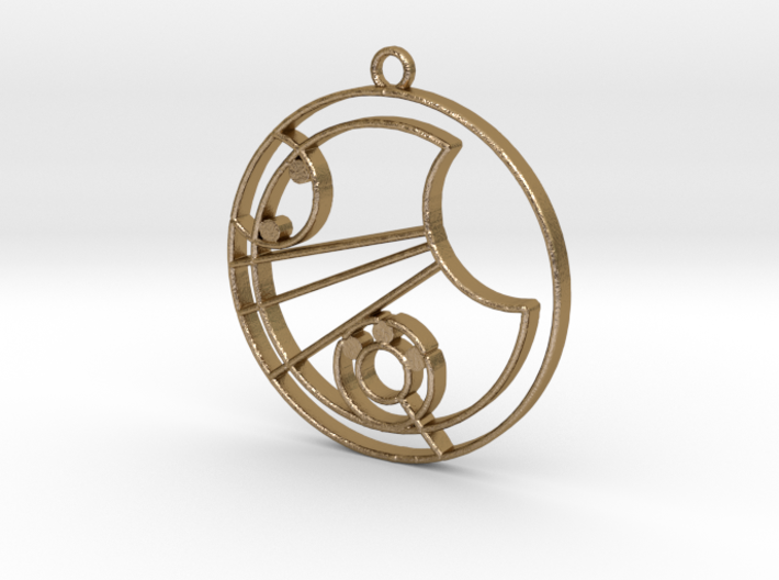 Lucy - Necklace 3d printed