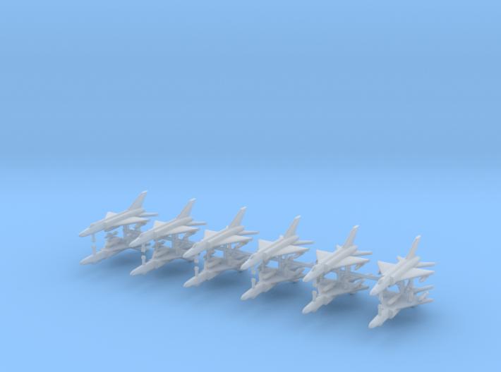 1/700 Shenyang J-8 Finback (x12) 3d printed 1/700 Shenyang J-8 Finback (x12)