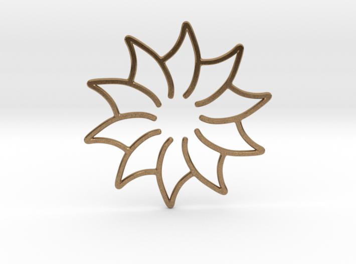 Dreamcatcher - Flower 3d printed