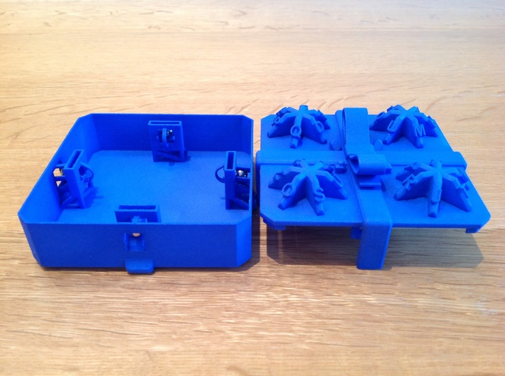 Present - Centrifugal Puzzle Box 3d printed