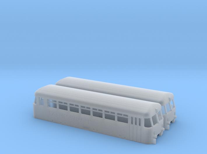 Z Gauge 1:220 2 X Umbausatz LZB Messwagen BR 727 3d printed