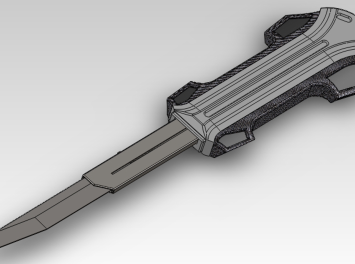 [Gravity] Modern Hidden Blade Replica For Cosplay 3d printed Modern blade with the optional attachement